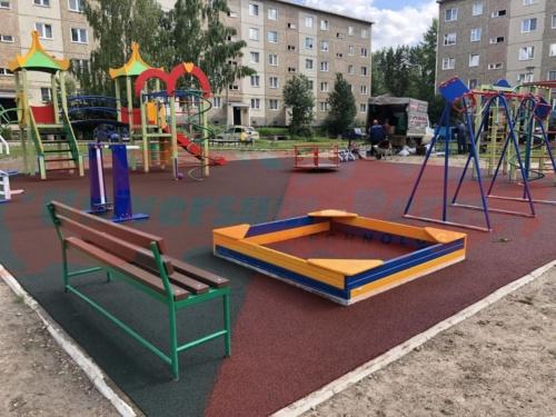 Детская площадка пос. Березовка