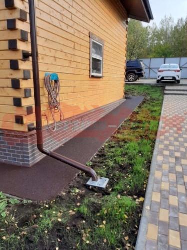 Придомовая территория, частный дом, Голованово