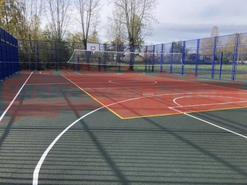 Спортивные площадки стадиона «Молния»