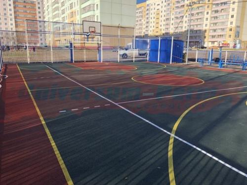 Спортивная площадка м-р Левшино