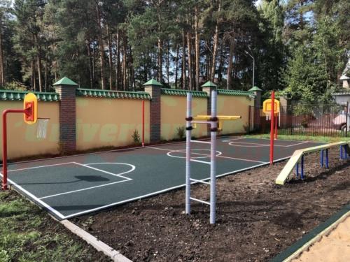 Площадка детского садика, в.Курья