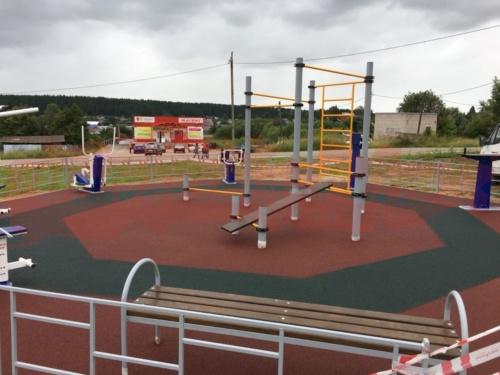 Спортивная площадка пос. Карагай