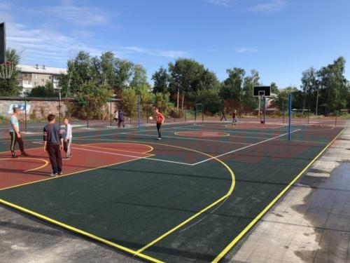 Спортивная площадка город Ирбит