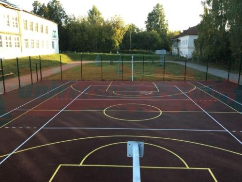 Спортивная площадка пос. Нытва