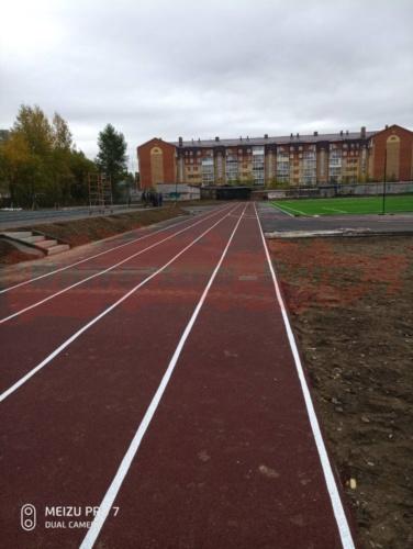 Стадион, город Соликамск