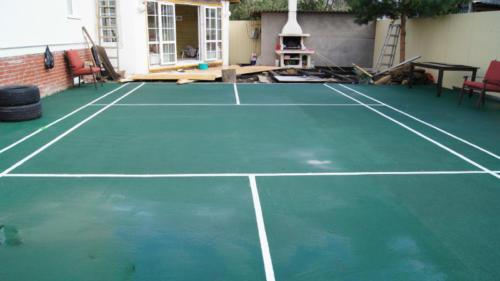 Cпортивные площадки и теннисные корты