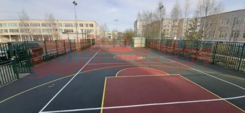Пять спортивных площадок, город Соликамск