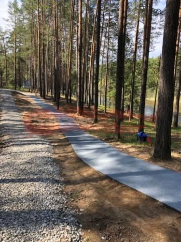 Прогулочная дорожка, коттеджный посёлок Боброво