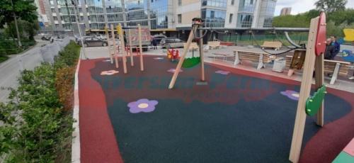 Детская площадка на ул. Вильвенская 2