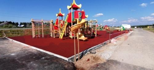 Детская площадка, пос. Чёрное